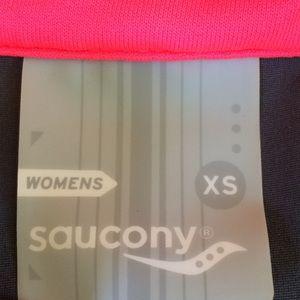 Saucony Jackets & Coats - Saucony Women's Running Jacket Pink + Grey XS NWOT